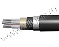 Силовой кабель марки АПвзБбШп