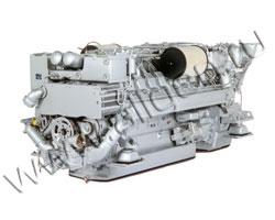 Дизельный двигатель AKSA G12V190ZL1 мощностью 1158 кВт
