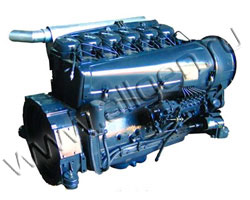Дизельный двигатель Beinei Deutz F6L912D мощностью 48 кВт