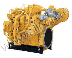 Дизельный двигатель Caterpillar 3508 TA мощностью 870 кВт