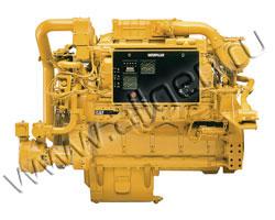 Дизельный двигатель Caterpillar 3508B TA мощностью 951 кВт