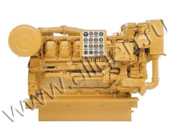 Дизельный двигатель Caterpillar C32 мощностью 1007 кВт