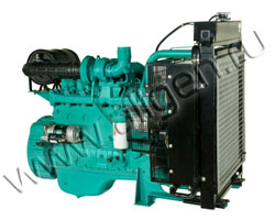 Дизельный двигатель Cummins China 6BTA5.9G мощностью 120 кВт