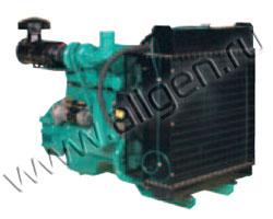 Дизельный двигатель Cummins China 6CTA8.3G мощностью 180 кВт
