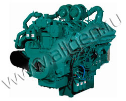 Дизельный двигатель Cummins China QSZ13G3 мощностью 490 кВт