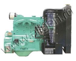 Дизельный двигатель Cummins 4B3.9G2 мощностью 27 кВт