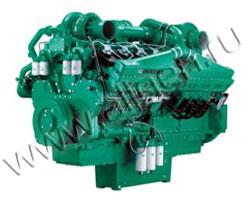 Дизельный двигатель Cummins QSK50G4 мощностью 1428 кВт