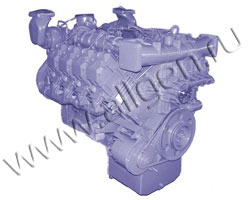 Дизельный двигатель Deutz China BF8M1015CP мощностью 476 кВт