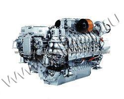 Дизельный двигатель Deutz TBD616V12 мощностью 756 кВт