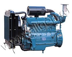 Дизельный двигатель Doosan DB33A мощностью 44 кВт