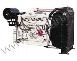 Дизельный двигатель Doosan P126TI-II мощностью 294 кВт