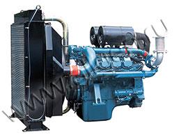 Дизельный двигатель Doosan DV11 мощностью 294 кВт