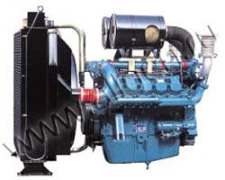Дизельный двигатель Doosan P180LE-1 мощностью 442 кВт