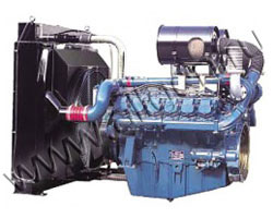 Дизельный двигатель Doosan P222LE-S мощностью 603 кВт