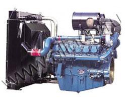 Дизельный двигатель Doosan P222LE мощностью 574 кВт