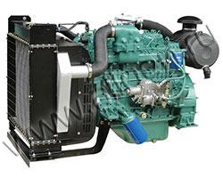 Дизельный двигатель FAW 4110/125Z-09D мощностью 72 кВт