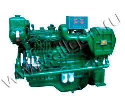 Дизельный двигатель Jichai 6190ZLD1 мощностью 594 кВт