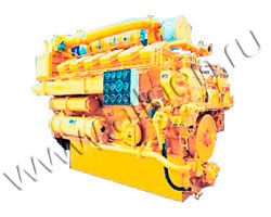 Дизельный двигатель Jichai Z12V190 мощностью 920 кВт