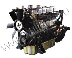Дизельный двигатель Kipor KD6105ZG мощностью 89 кВт