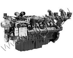 Дизельный двигатель Kohler KD36V16 мощностью 1333 кВт