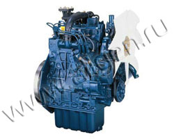 Дизельный двигатель Kubota D1005 3000TR мощностью 16 кВт
