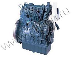 Дизельный двигатель Kubota D1305 мощностью 11 кВт
