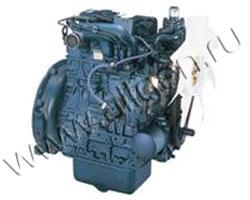 Дизельный двигатель Kubota D1703 мощностью 15 кВт