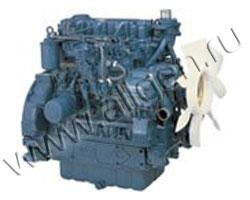Дизельный двигатель Kubota V2003 Turbo мощностью 23 кВт