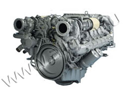 Дизельный двигатель MAN D2842LE201 мощностью 582 кВт
