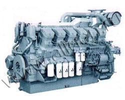 Дизельный двигатель Mitsubishi S12R-PTAW мощностью 1462 кВт