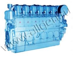 Дизельный двигатель Mitsubishi S6U2-PTA мощностью 1395 кВт