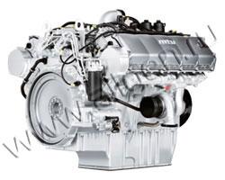 Дизельный двигатель MTU 10V1600G10F мощностью 433 кВт