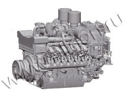 Дизельный двигатель MTU 12V4000G21R мощностью 1175 кВт