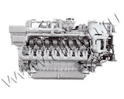 Дизельный двигатель MTU 16V2000G23 мощностью 805 кВт