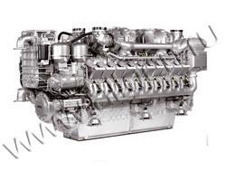 Дизельный двигатель MTU 18V2000G63 мощностью 985 кВт