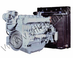Дизельный двигатель Perkins 4006-23TАG3A мощностью 760 кВт