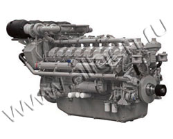 Дизельный двигатель Perkins 4016-61TRG1 мощностью 1684 кВт