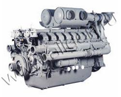 Дизельный двигатель Perkins 4016TAG мощностью 1607 кВт