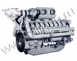 Дизельный двигатель Perkins 4016TAG2A мощностью 1886 кВт