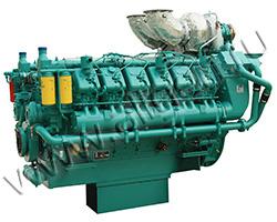 Дизельный двигатель TSS Diesel TDG 1331 12VTE мощностью 1464 кВт