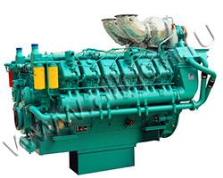 Дизельный двигатель TSS Diesel TDG 1665 12VTE мощностью 1832 кВт