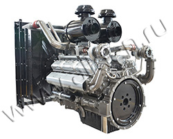 Дизельный двигатель TSS Diesel TDS 459 12VTE мощностью 505 кВт