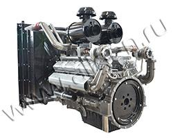 Дизельный двигатель TSS Diesel TDS 505 12VTE мощностью 555 кВт