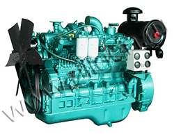 Дизельный двигатель TSS Diesel TDY 120 6LT мощностью 132 кВт