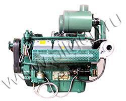 Дизельный двигатель Wuxi WD287TAD58 мощностью 647 кВт
