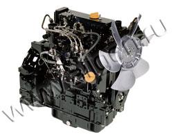 Дизельный двигатель Yanmar 3TNV82A мощностью 12 кВт