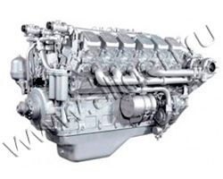 Дизельный двигатель ЯМЗ 240НМ2 мощностью 405 кВт