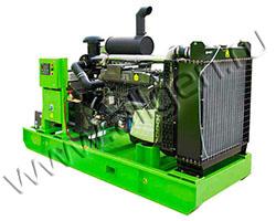 Дизельный генератор АД АД60-Т400-R мощностью 83 кВА (66 кВт) на раме