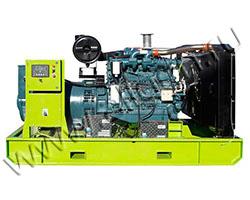 Дизель электростанция АД АД250-Т400-D мощностью 344 кВА (275 кВт) на раме