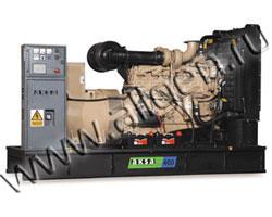 Дизель электростанция AKSA ACQ-350 мощностью 350 кВА (280 кВт) на раме